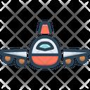 Flight Plan Aeroplane Icon