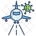 Flight Virus Spread From Traveling Travel Icon