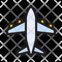 Flight Airplane Travel Icon