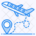 Flight Flying Aviation Aeronautics Icon