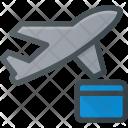 Flight Plane Booking Icon