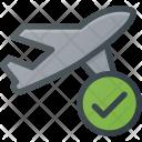 Flight Plane Check Icon