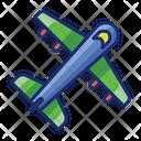 Flight Plane Aeroplane Icon