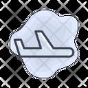 Airport Plane Flight Icon
