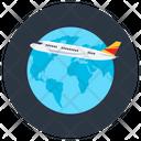 Aeroplane Flight Aircraft Icon