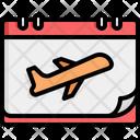 Flight Travel Airplane Icon