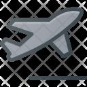 Flight Plane Fly Icon
