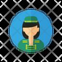 Avatar Flight Attendant Job Icon