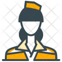 Flight Attendant Avatar Icon