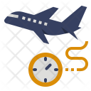 Flight boarding time Icon