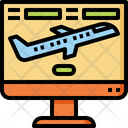 Flight Booking Reservation Icon