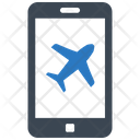 Booking Flight Online Icon