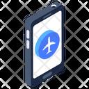 Flight Booking App Mobile Application Flight Application Icon