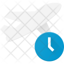 Flight delay Icon
