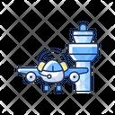 Flight Dispatch Aviation Service Icon