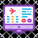 Flight Information Icon