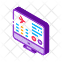 Flight Information Web Icon