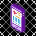 Flight Information Phone Icon