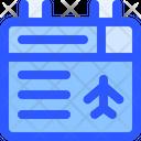 Airport Flight Flight Information Icon