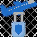 Flight Insurance Plane Icon