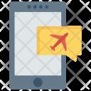 Flight Message Icon