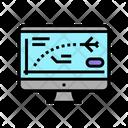 Flight Path Computer Icon