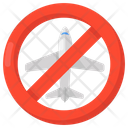 Flight Prohibition Flight Block No Flight Icon