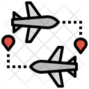 Flight Route Icon