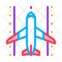 Airplane Runway Airport Icon