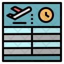Flight schedule Icon
