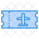 Ticket Travel Plane Icon