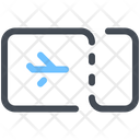 Flight Plane Ticket Icon