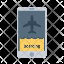 Boarding Pass Flight Icon