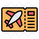 Flight Ticket Icon