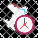 Time Flight Travel Icon