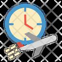 Flight Time Flight Time Icon