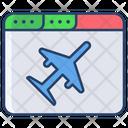 Flights Website Icon