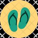 Flip Flops Shoes Icon