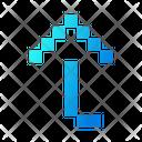 Flip Draw Arrow Icon