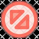 Flip diagonal arrow Icon