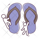 Footwear Casual Footwear Slippers Icon