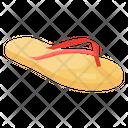 Flip Flop Footwear Casual Footwear Icon