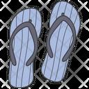 Flip Flops Footwear Casual Icon