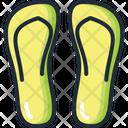 Flip Flops Footwear Slippers Icon