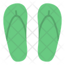 Flip Flops Footwear Slipper Icon