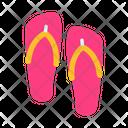 Flip Flops Slippers Footwear Icon