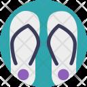Flipflops Beach Sandals Icon