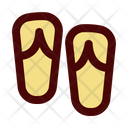 Flip Flops Slippers Sandals Icon