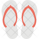 Flip Flops Slippers Icon
