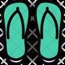 Flip Flops Beach Icon